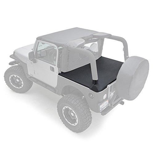 Smittybilt 761035 Tonneau Cover for 1997-2006 Jeep Wrangler TJ, Black -