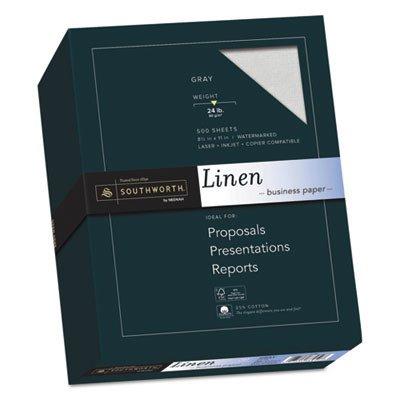 (SOU574C - Southworth 25% Cotton Linen Business Paper )