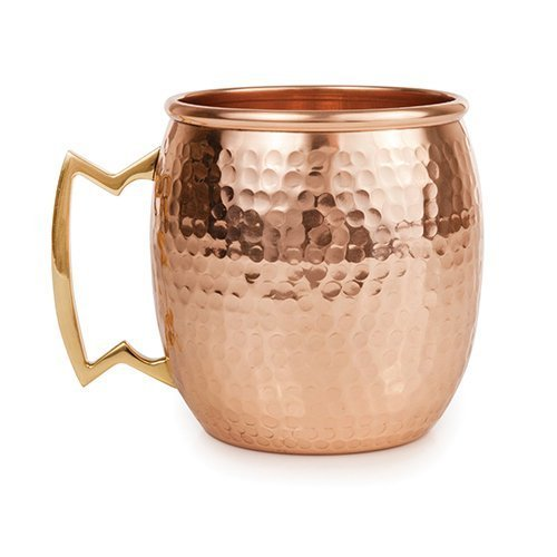 Moscow-Mule-Copper-Mugs-Set-of-1Qty-Premium-Hammered-100-Solid-Copper-No-Nickel-Inside-Pure-Copper-Enhances-Flavors-Highest-Quality-Each-Handcrafted-Mug-is-of-16oz-Capacity