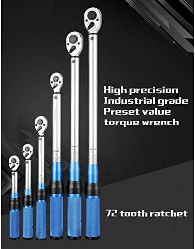 プリセットトルクレンチ 1/4 インチドライブ & 3/8 & 1/2 、 高トルク と クイックリリース 関数