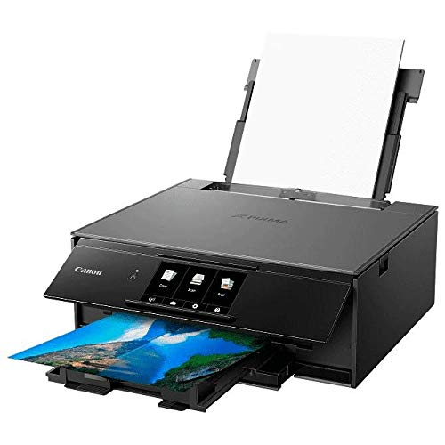 Canon Office and Business Wireless All in one Printer with Bluetooth, Wi-Fi, air Print and Google Cloud Print Compatible Mobile Tablet with Scanner, Copier and CD Printer with Set of Ink by Canon (Image #6)