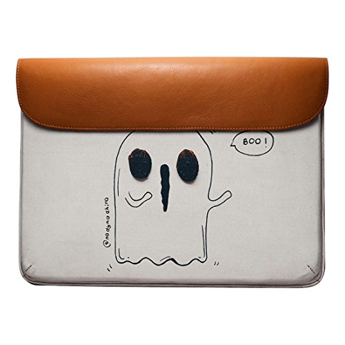 Macbook Real Ghost Sleeve For Leather 13 Pro Envelope DailyObjects Boo Air B0ZBE