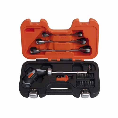 Bahco 808050P-25 - Pistol Grip Ratcheting Set