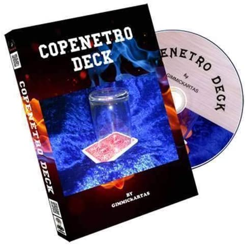 SOLOMAGIA Copenetro Deck by Gimmickartas (DVD & Gimmick) - DVD and ...