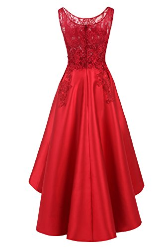 Royalblue Low Lace Hi Dresses Evening ALAGIRLS Prom Gowns Formal Satin Womens xpOYvTv