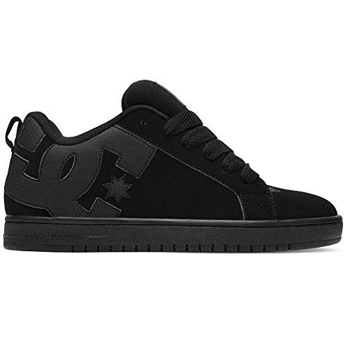 Dc Heren Hof Graffik Skate Schoen 3bk Black-black-black