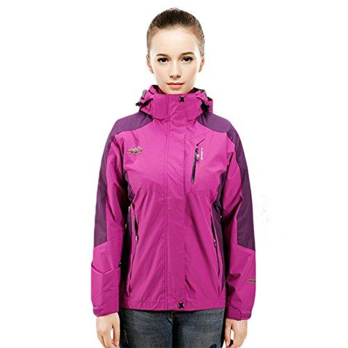 CHAREX Women Waterproof Breathable Coat Lightweight Front-Zip Sportswear Jacket supplier