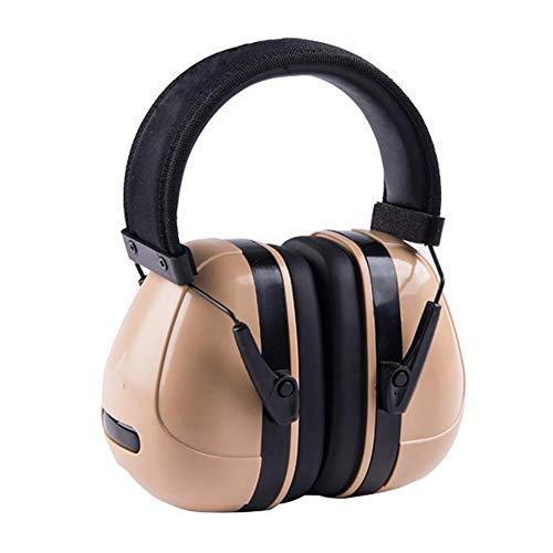 Noise Cancelling Headphones, Head-Mounted Adult Soundproof Earmuffs Sleep Learning Noise Reduction Earphones by Noise canceling headphones (Image #5)