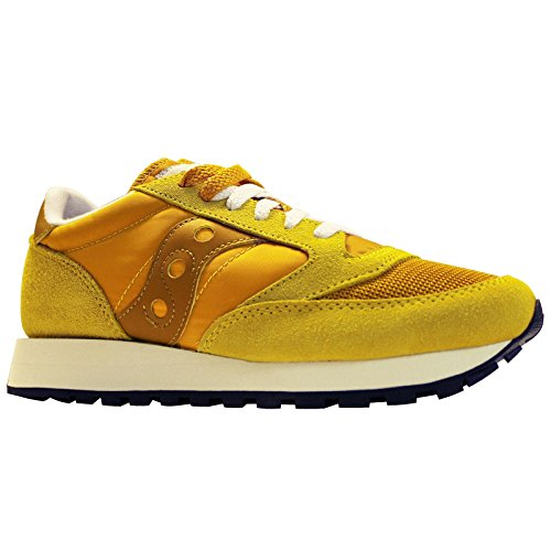 Saucony Womens Jazz Original Vintage S60368-29 Sun Suede Trainers 9 US by Saucony (Image #4)