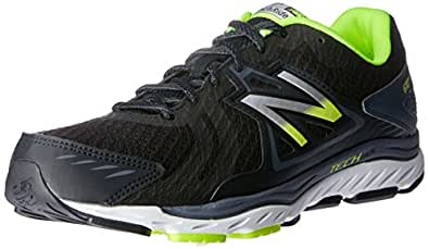 New Balance Men's 670v5 Running Shoes, Black/Grey, EU 41 1/2, 8 US