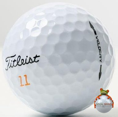 Titleist Velocity AAA Used Golf Balls, 24-Pack