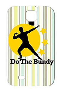 Durable Gold Do The Bundy Funny Satire Married With Children Football Pose Al For Sumsang Galaxy S4 Case Cover