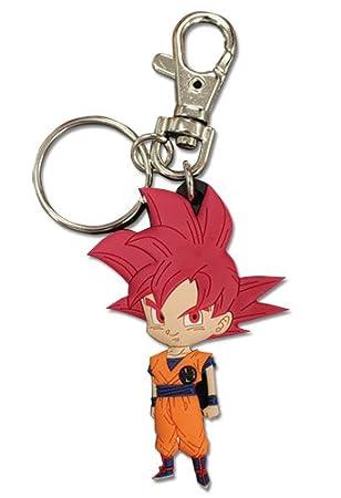 Dragon Ball Super SSG Son Goku Saiyan Llaveros Porte-clés en ...