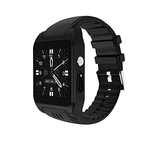 (Smart watch Men's Memory 512M + 4G Camera Touch Screen with Camera 3G GPS Fitness Tracking Bracelet)