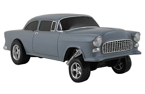 (Gasser Model 1955 Chevy 1:18 Scale Gray Matte)