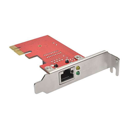 Tripp Lite 1-Port Gigabit Ethernet (GbE) PCI Express (PCIe) Card, Low Profile (PCE-1G-01-LP) ()
