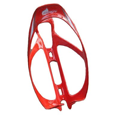 LY Cycling 3K Weave Carbon Fiber Bottle Cage (Red)