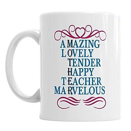 Amazon com: 659ParkerRob Amazing Lovely Tender Happy Teacher