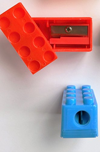 Brick Sharpeners - 24, Connects & Stacks Just Like Famous Building Blocks by Lifetime Inc