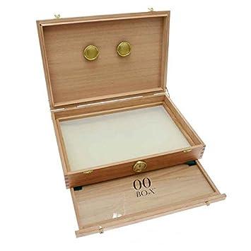 Caja de madera polinizadora para curado 00Box - Grande (00 Box): Amazon.es: Jardín