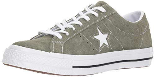 (Converse Mens One Star Ox Suede Low Top Casual Shoes Green 11 Medium)