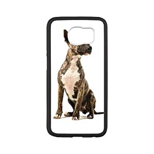 Basset Hound Samsung Galaxy S6 Cell Phone Case White SP1290790
