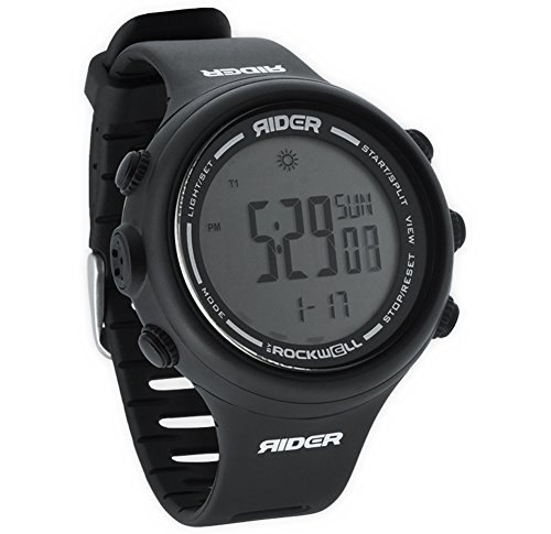 Rockwell Time Rider Watch, Black