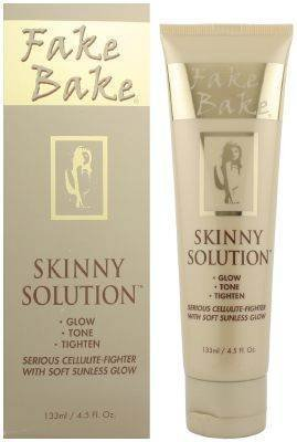 Fake Bake Skinny Solution Serious Cellulite Fighter With Soft Sunless Glow Body Skin Care Products