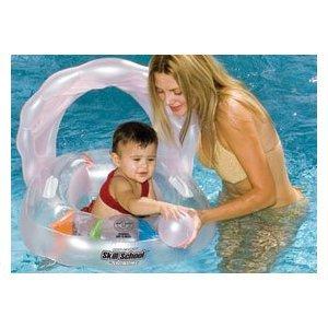Skill escuela piscina hinchable Oyster bebé asiento - Promueve ...