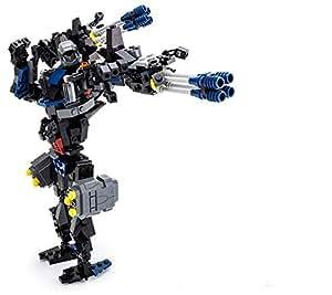 Goudi Deformed Dinosaur Robots Building Blocks Children