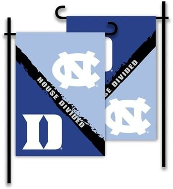 Rivalry House Divided NCAA 2-Sided Garden Flag