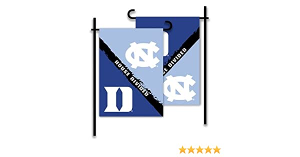 Carolina-Nc State 2-Sided Garden Flag-Rivalry House Divided NCAA N
