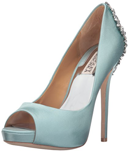 buy cheap Manchester Badgley Mischka Women's Kiara Platform Pump Blue Radiance discount best sale outlet fashion Style great deals sale online QbtvZWpKO8
