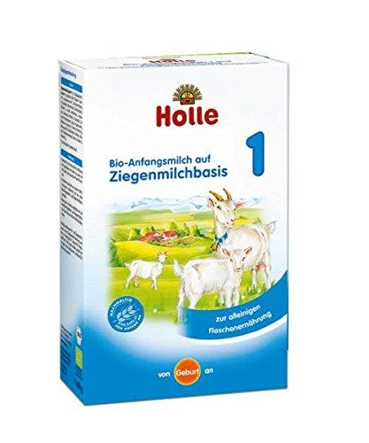 Holle Bio Anfangsmilch 1, auf Ziegenmilchbasis, 4er Pack (4 x 400g)