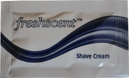 Freshscent Shave Cream (packet) (case of 1000) by Freshscent