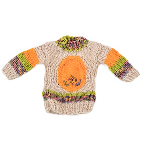 Knitting Best Friends Club Christmas Ugly Sweater Bottle Cover Mini (Brown)