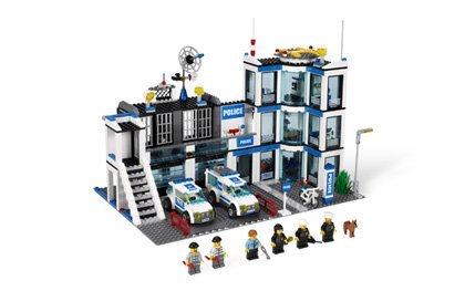 (LEGO Police Station 7498 (Discontinued by manufacturer))