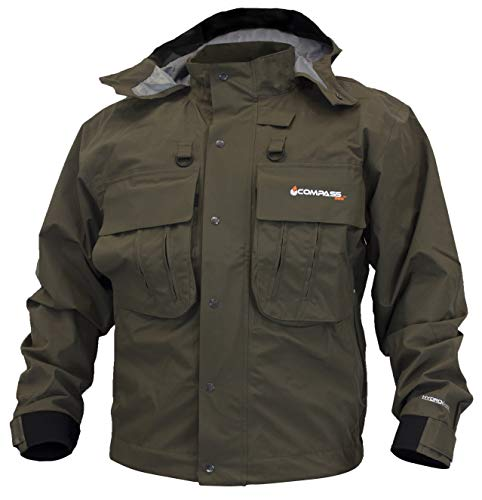 HT23105-85-XL Hells Gate Wading Jacket, Stone, X-Large ()