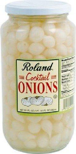 Roland 45440 Onions Cocktail 1Qt
