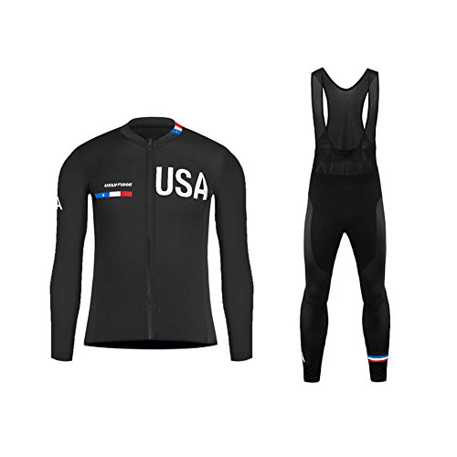 Uglyfrog Newest #01 Long Sleeve Women Breathable Cycling Jersey+Long Bib Pant with Gel Pad Set Outdoor Sports Wear Spring Bicycle Triathlon Top Quick Dry
