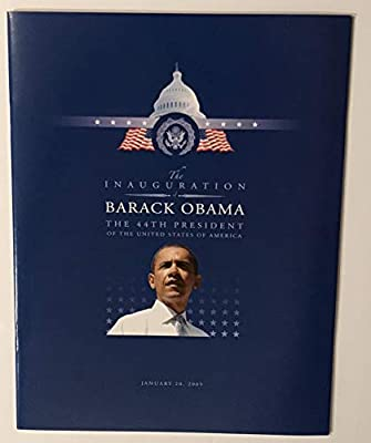 Barack Obama inauguration program 2009 44th president washington dc