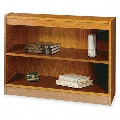 (Safco Products 1501MOC Square-Edge Bookcase, 2 Shelf, Medium)