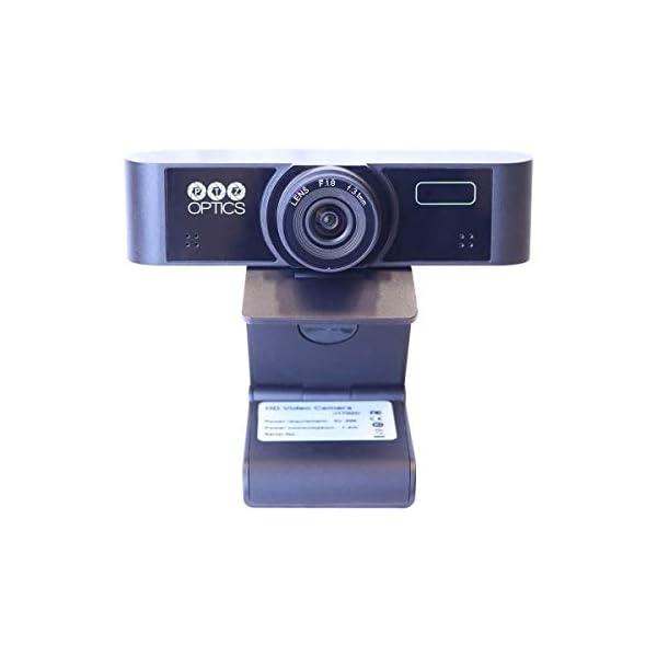 PTZOptics USB Webcams with Dual Microphones PTZ Camera Wide Angle Lens PT WEBCAM 80
