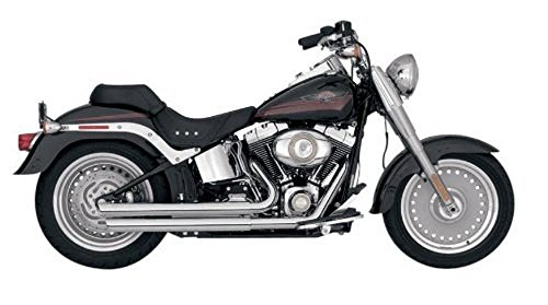 Vance & Hines Q-Series Double Barrel for Harley Softail 86-10 (Eagle Screamin Mufflers)