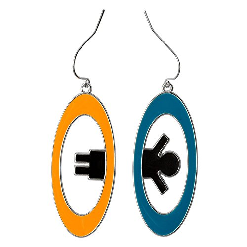 JINX Portal 2 Inter-Spatial Portal Earrings