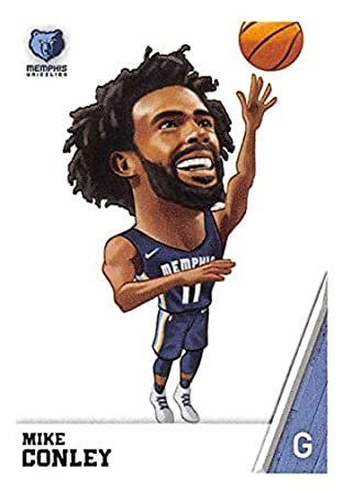 63c1d78b6 2018-19 Panini NBA Stickers Basketball  285 Mike Conley Memphis Grizzlies  Fathead