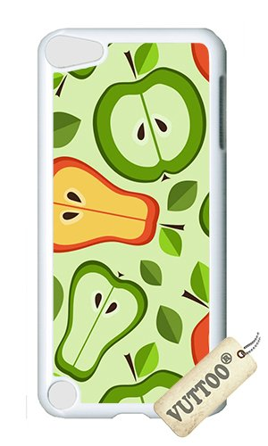Halves Fruit (iPod 5 Case,VUTTOO Cover With Photo: Fruit Halves For iPod Touch 5 - PC White Hard Case)