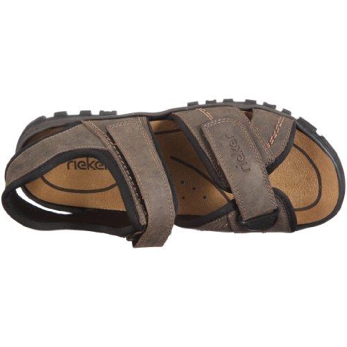 Rieker Christian 25051-27 - Sandalias de vestir para hombre Marrón