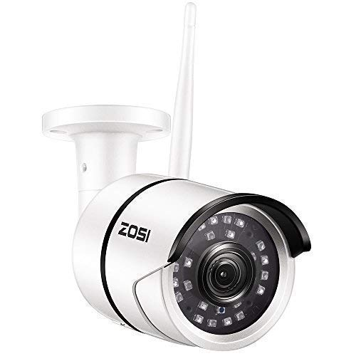 ZOSI 1080P HD 1920TVL Hybrid 4-in-1 TVI/CVI/AHD/960H CVBS CCTV Surveillance Weatherproof Bullet Security Camera 42PCS Infrared LEDs, 120ft IR Distance, For HD-TVI, AHD, CVI, and CVBS/960H analog DVR