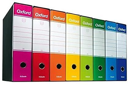 oxford raccoglitore  Esselte 390783200 Raccoglitore Oxford con meccanismo a leva e con ...